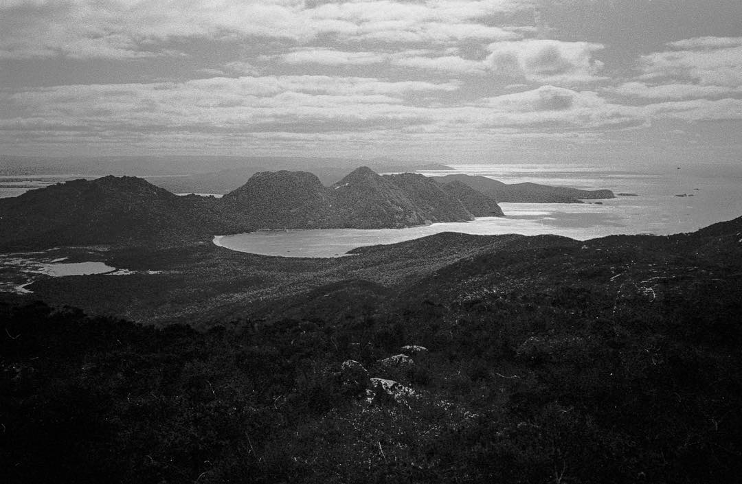 Catching up on some developing and scanning here. Wineglass Bay and The Hazards from Mt Graham a month or so ago. Shot on Olympus XA / Tri-X. Film still rules.